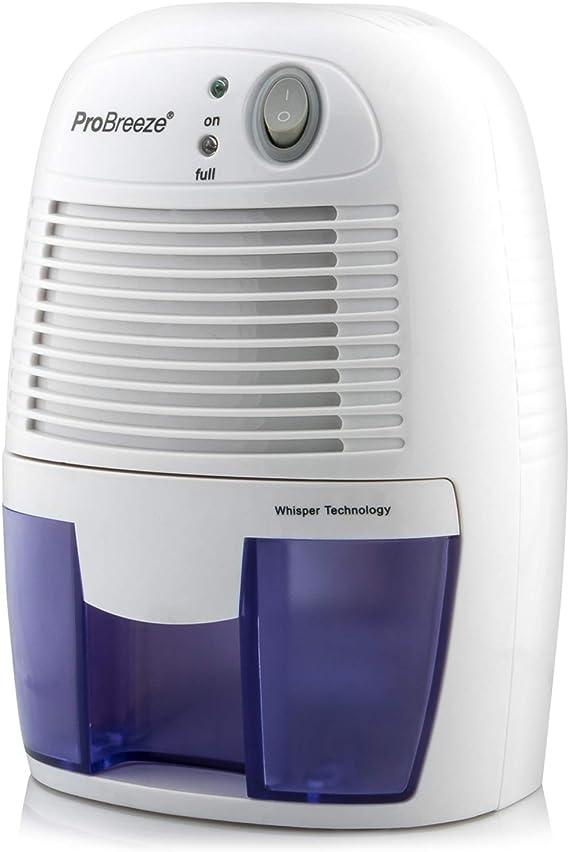 Deshumidificador Compacto y portátil Pro Breeze™, 500 ml, Protege Frente a la Humedad, la Suciedad y el Moho en casa ...