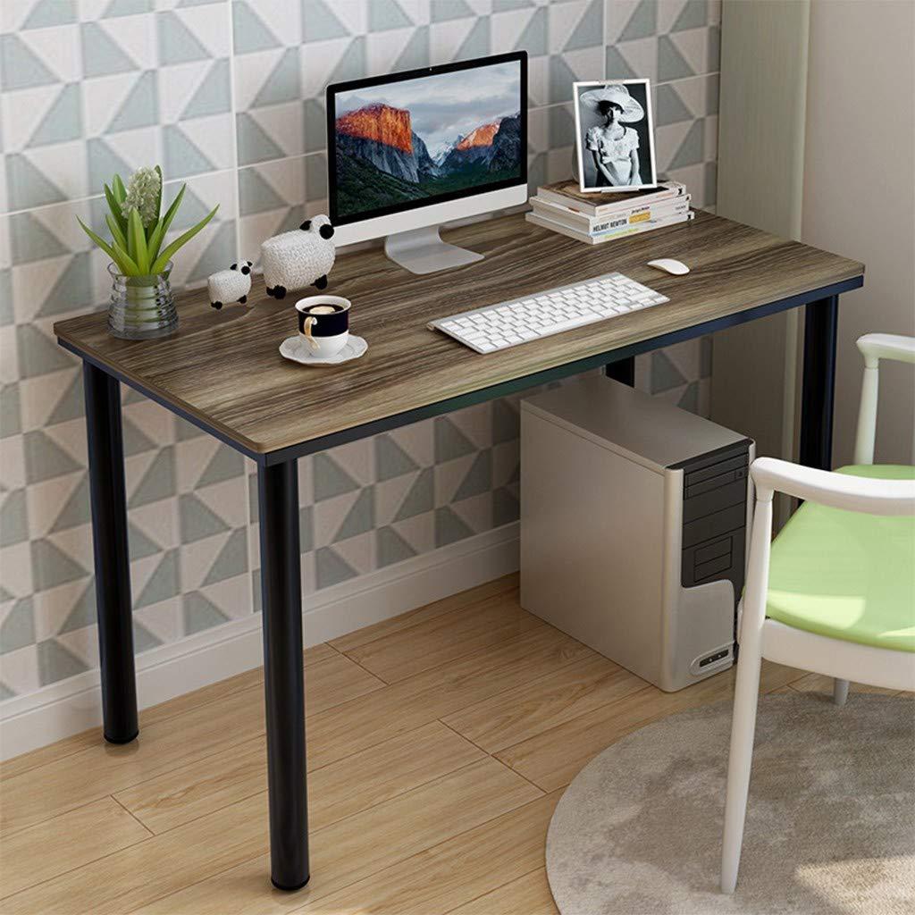 Household Steel Wood Computer Desk PC Laptop Study Table Office Desk Workstation