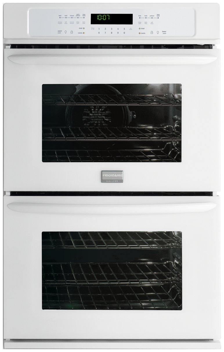 Gallery 27 In. Double Electric Wall Oven – White by Frigidaire (Image #1)