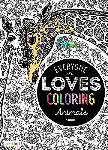 Amazon.com: Bendon 26793 Animals Advanced Coloring Book: Bendon ...