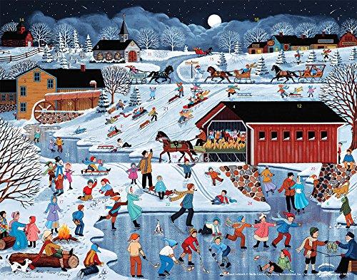 Vermont Christmas Company More Snow Coming Advent Calendar