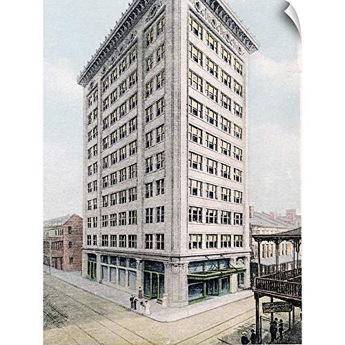 - CANVAS ON DEMAND The Henry Ford Wall Peel Wall Art Print Entitled The Van Antwerp Building Mobile Alabama Vintage Photograph 12