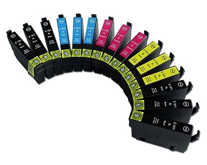 TiAN - 15 Compatible T1811-T1814 cartuchos de tinta para impresora ...