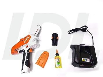 Stihl GTA 26 - Cortador de leña con batería AS 2 y cargador AL 1 ...