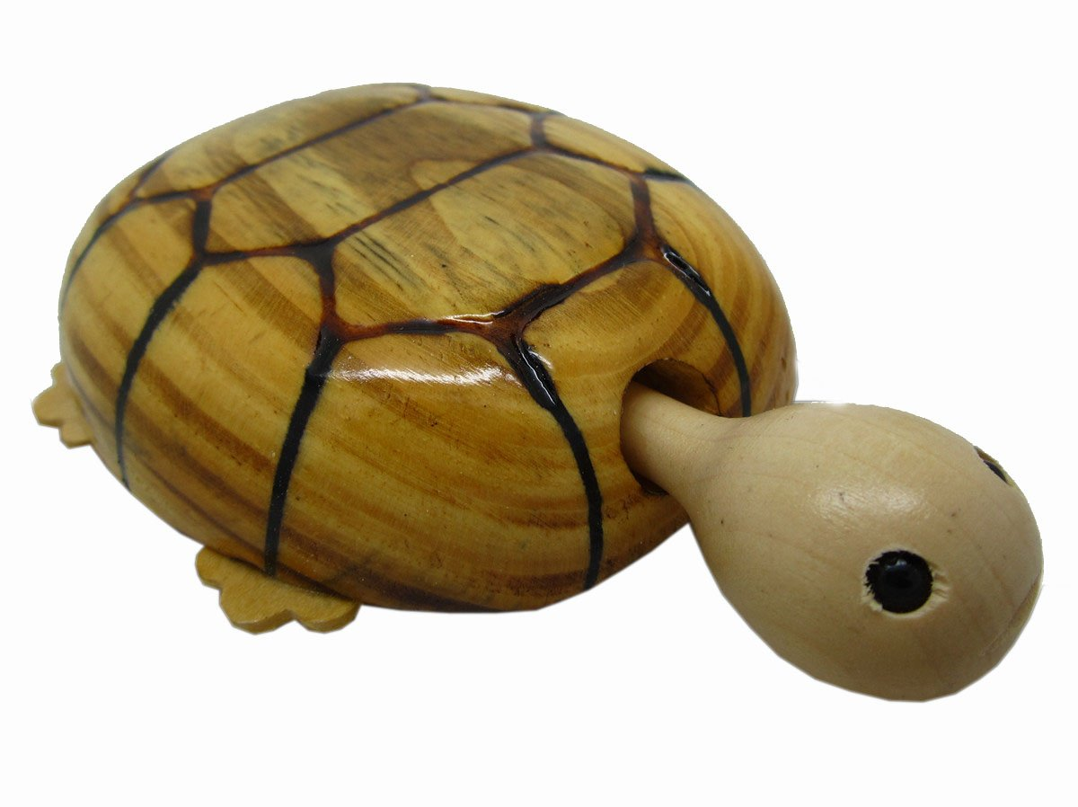 Wooden Shaking Head Wagging Tail Tortoise Turtle Car Toy Wiring Diagram Gift Toys Games