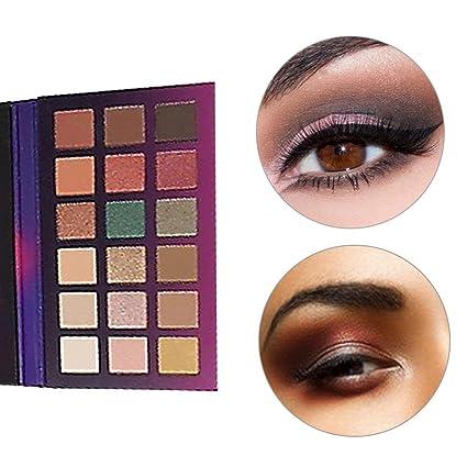 Tasu Paletas de Sombras de Ojos de 18 Colores Tono de ...