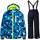 Boy's Ski Jacket and Pants Snow Insulated Suit Windproof & Waterproof
