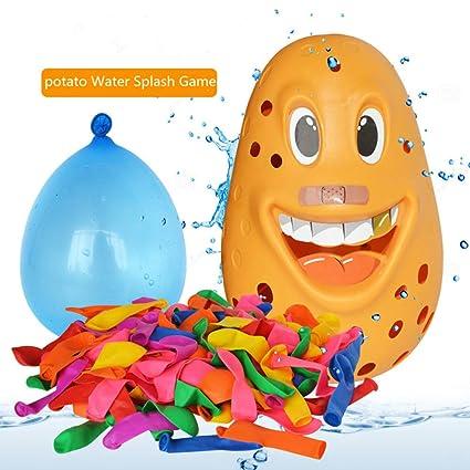 Amazon.com: LtrottedJ Splash Potato - Juego de salpicaduras ...