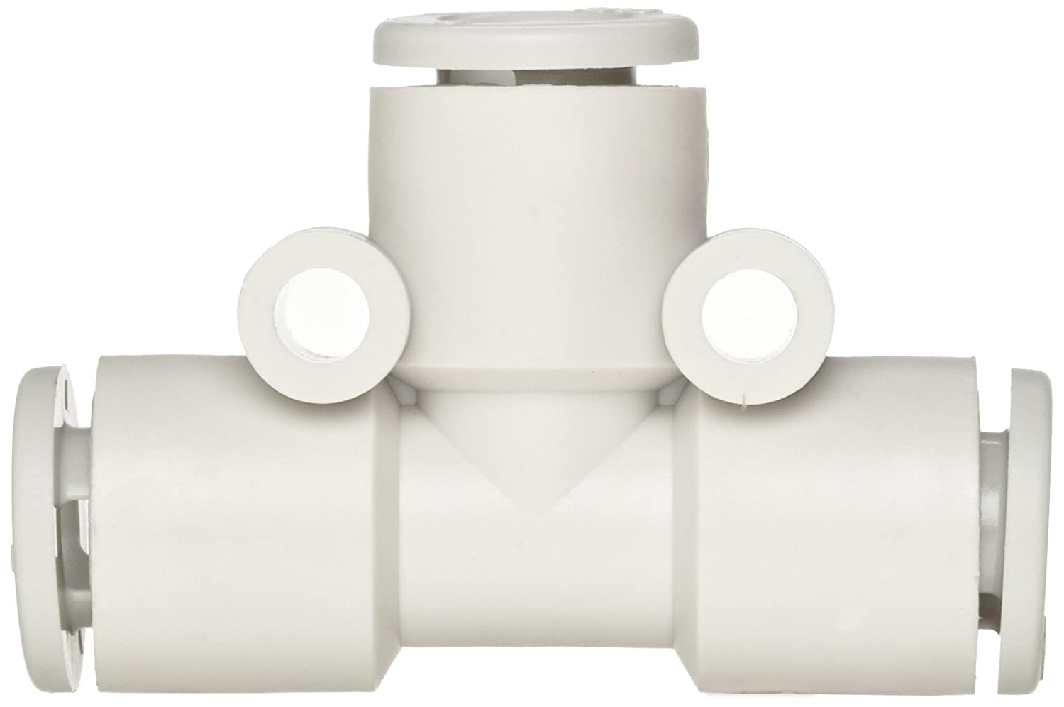 6 mm Tube OD Tee SMC KJT06-00 PBT Push-To-Connect Tube Fitting