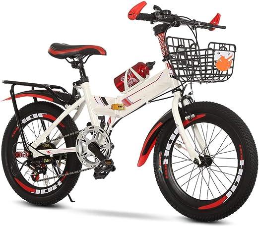 YUMEIGE Bicicletas Sillín Ajustable Bicicletas, Bicicleta Infantil ...