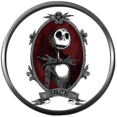 Amazon.com: Retrato de Jack On White Halloween Town ...