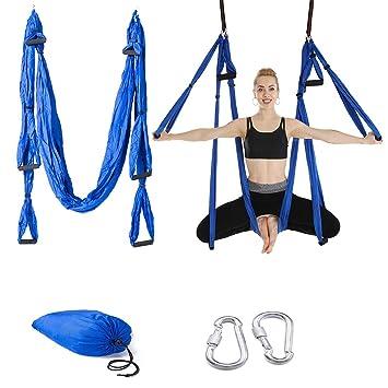 Amazon.com : Lixada Yoga Hammock, Premium Nylon Aerial Yoga ...