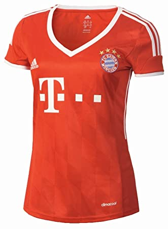 853ced53e434 adidas Damen Trikot FC Bayern München H JSY W, Fcbtru Wht, XS ...