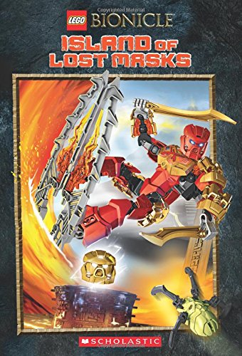 Price comparison product image Island of the Lost Masks (LEGO Bionicle: Chapter Book #1)