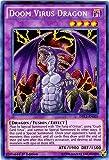 Yu-Gi-Oh! - Doom Virus Dragon (DRL2-EN003) - Dragons of Legend 2 - 1st Edition - Secret Rare