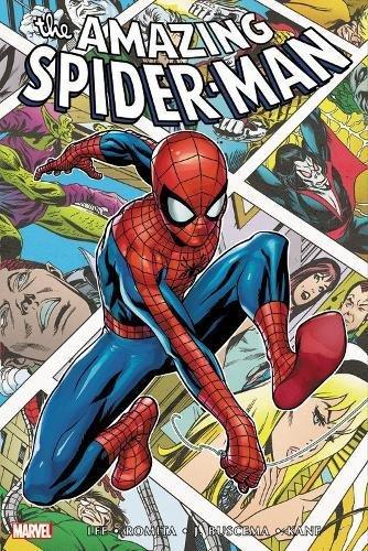 Spider-Man comic series book jacket