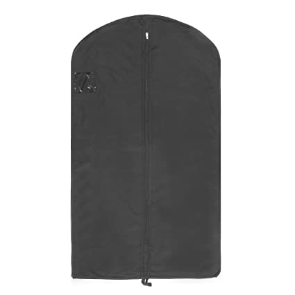349893faf048 Hoesh Finest Luxury Cotton Twill Breathable Men Travel Suit Cover Garment  Bag (5)  Amazon.co.uk  Kitchen   Home