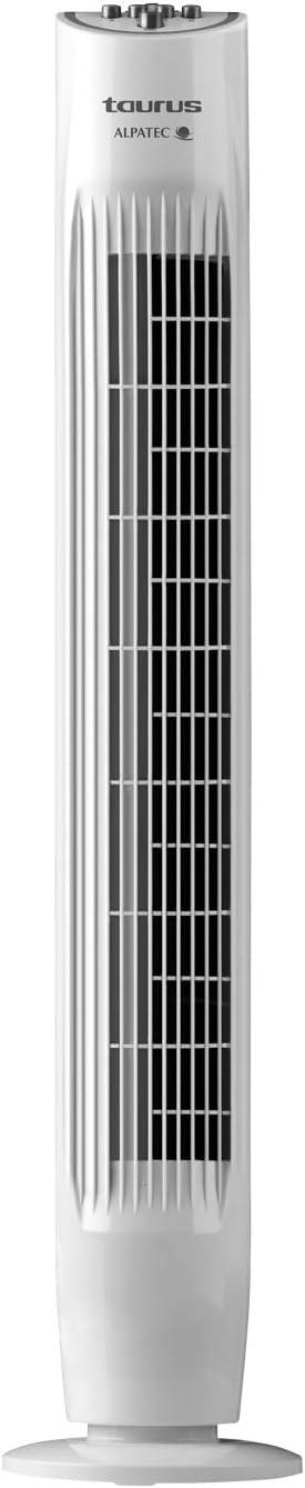 Taurus TF3000 Ventilador de torre oscilante, sistema de oscilación ...