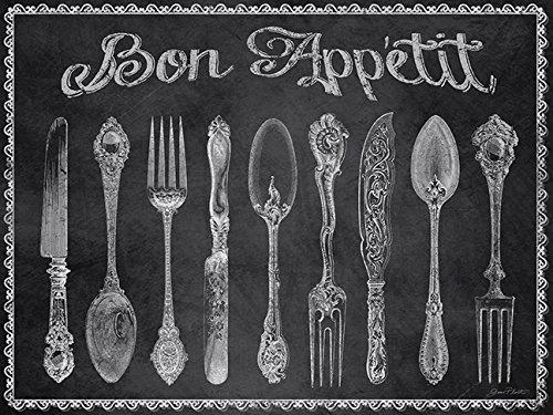 Chalkboard Art - Bon Appetit