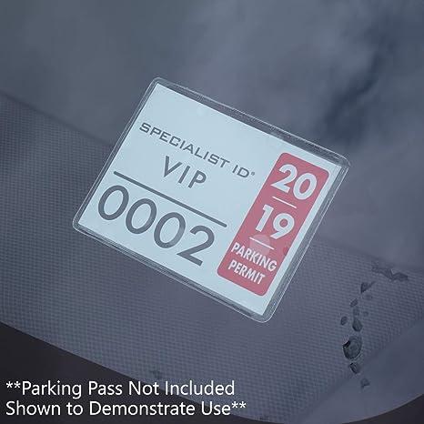 Amazon.com: Soporte de permiso de aparcamiento para ...