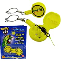 1 HOOK-EZE Twin Pack- Safety tying Device + Line Cutter * Choose your Color