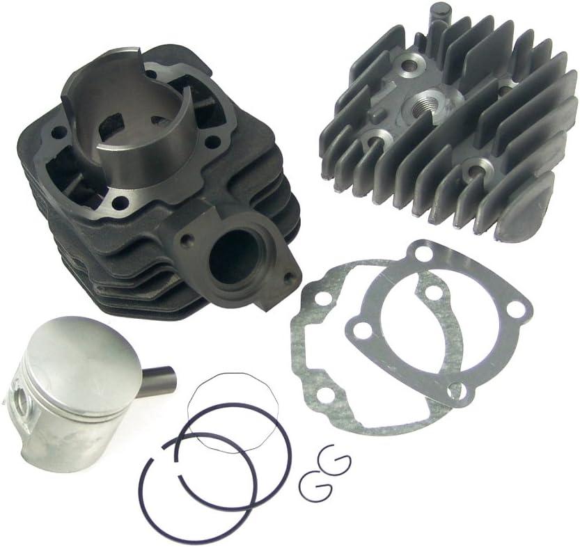 Kopf Zylinderkit 70ccm Sport Peugeot Speedfight 1 2 50 LC stehend 2T Zylinder