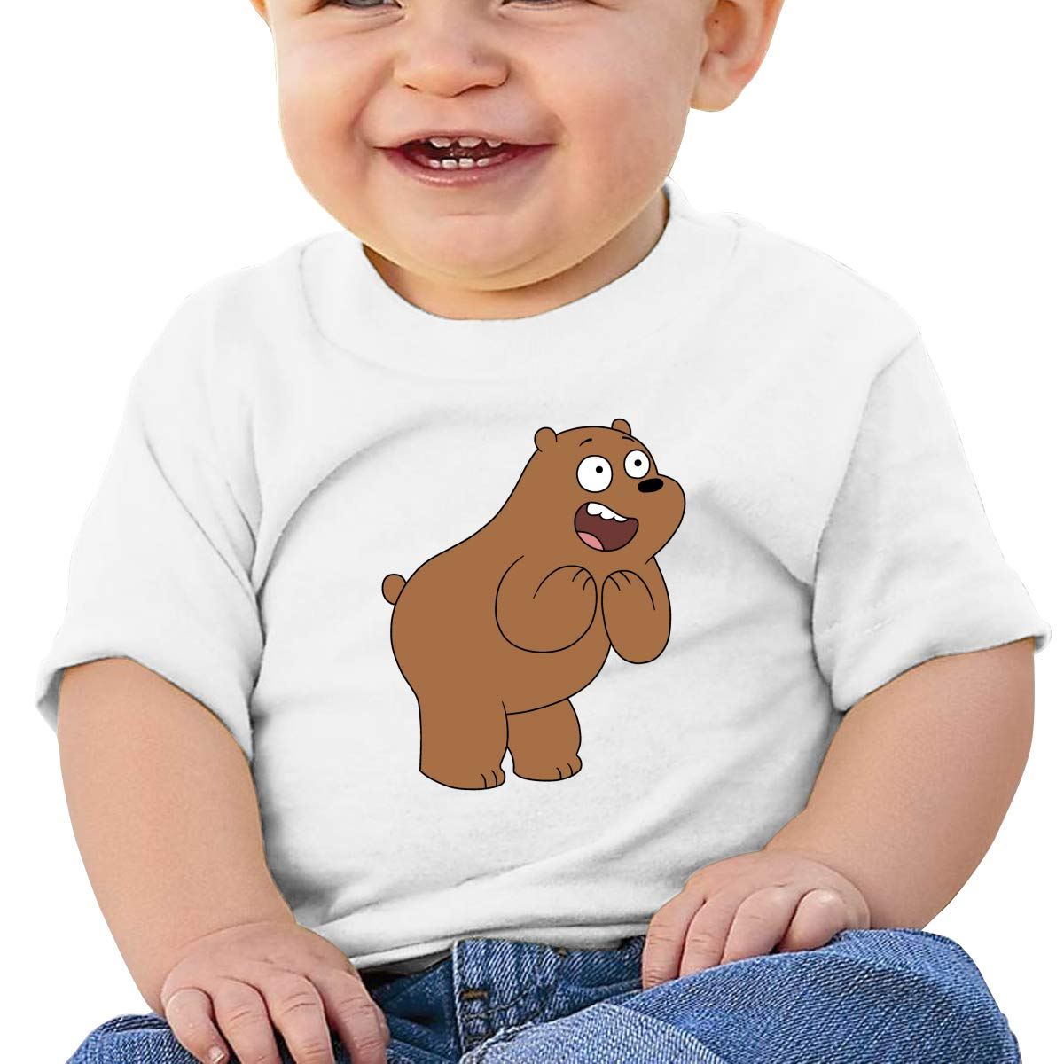 Baby Oh Bear Shirt Toddler Cotton Tee