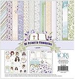 "Pack di 14 carta - Mi Primera Comunione - bambina, 12 ""X12"""