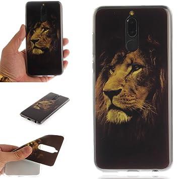 coque huawei mate 10 lite lion