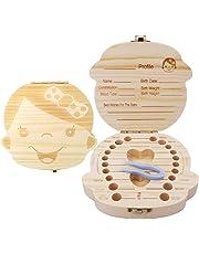 Baby Tooth Keepsake Box for Lost Teeth -Girls