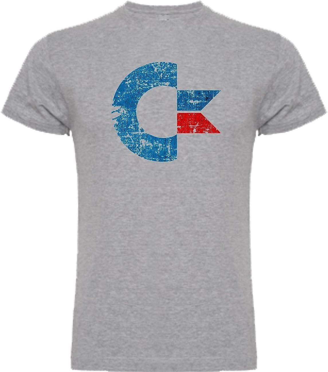 The Fan Tee Camiseta de Mujer Comodore Retro Gamer Logo Friki 64 Juego: Amazon.es: Ropa y accesorios