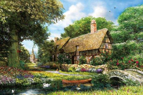 1000 Piece Sunnyside Cottage 1000-694 (japan import)