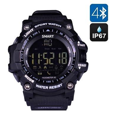TKSTAR Reloj Inteligente para Nadar, bucear, podómetro, Actividades Deportivas, rastreador, Reloj