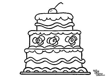 Tischsets I Platzsets Ausmalbilder Für Kinder Geburtstagstorte