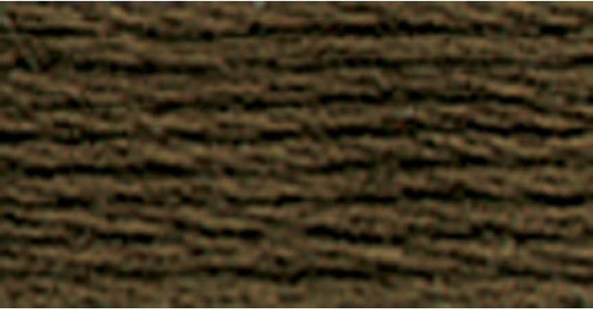DMC 117-801 6 Strand Embroidery Cotton Floss Dark Coffee Brown 8.7-Yard
