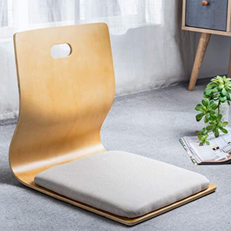 Amazon Com Game Chairs Living Room Chair Japanese Legless Chair Bay Window Backrest Chair Lazy Chair Cushion Floor Chair Lazy Sofa Game Meditation Floor Seating Floor Chairs With Back Support For Adults A Kitchen