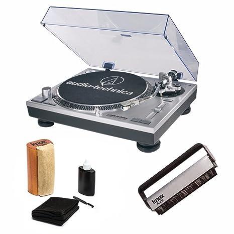 Amazon.com: Audio-Technica AT-LP120-USB Tocadiscos directo ...