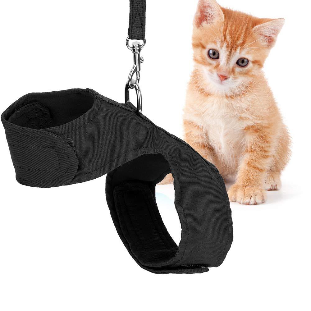 Ruiqas Cat Walking Chaqueta, arnés para gatos con cuerda ajustable ...