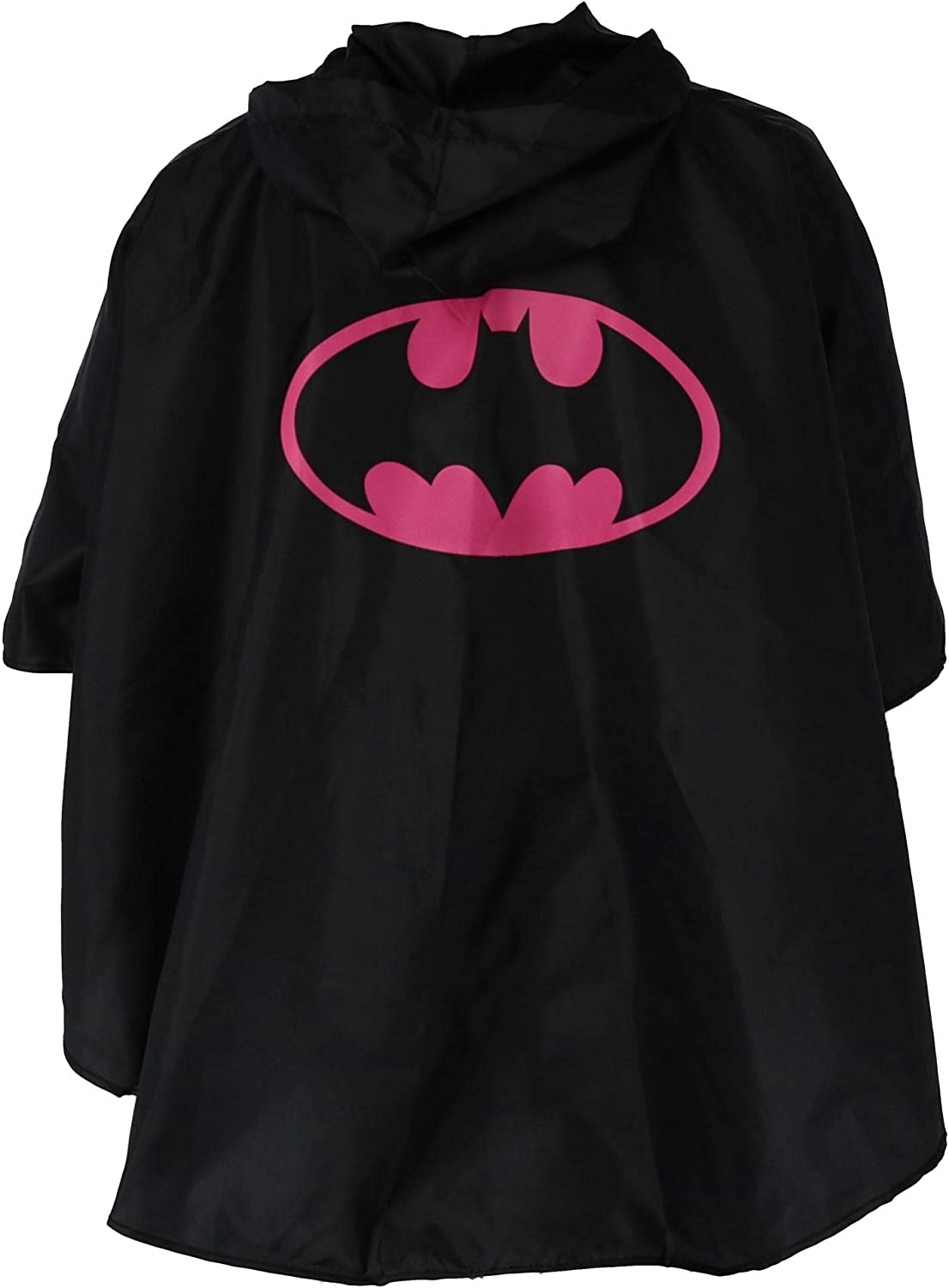 Batman-black1 Boqiao Christmas Halloween Costumes Kids Cape Raincoat,Waterproof Polyester Hooded Cosplay Party Cloak