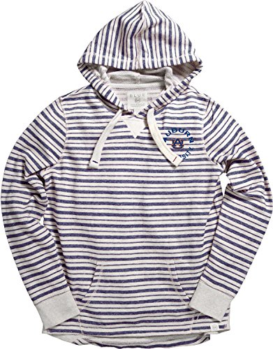 Blue 84 NCAA Auburn Tigers Women's French Terry Pullover Hoodie, Medium, - Blue Auburn Jersey