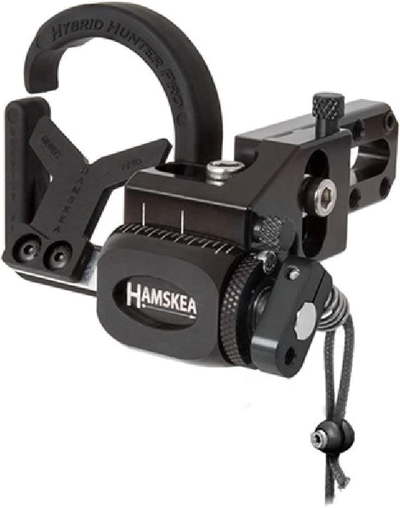 Hamskea Hybrid Hunter Pro Rest Micro Tune Rest Right Hand Black