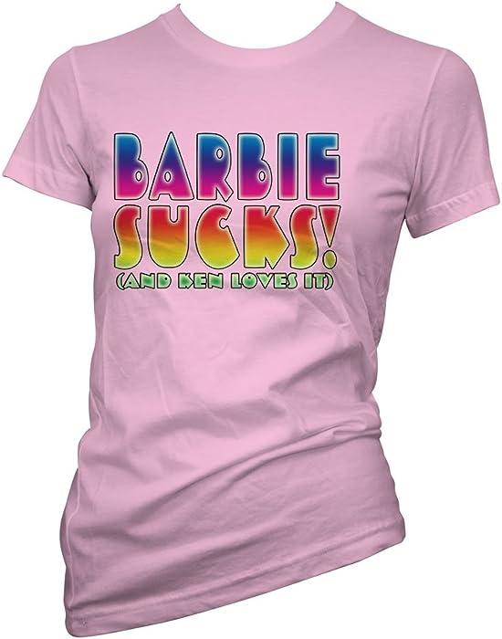 Coole Damen Shirt Sucks Witzige Sprüche Rosa T Lustige Barbie Fun B5OTcwq