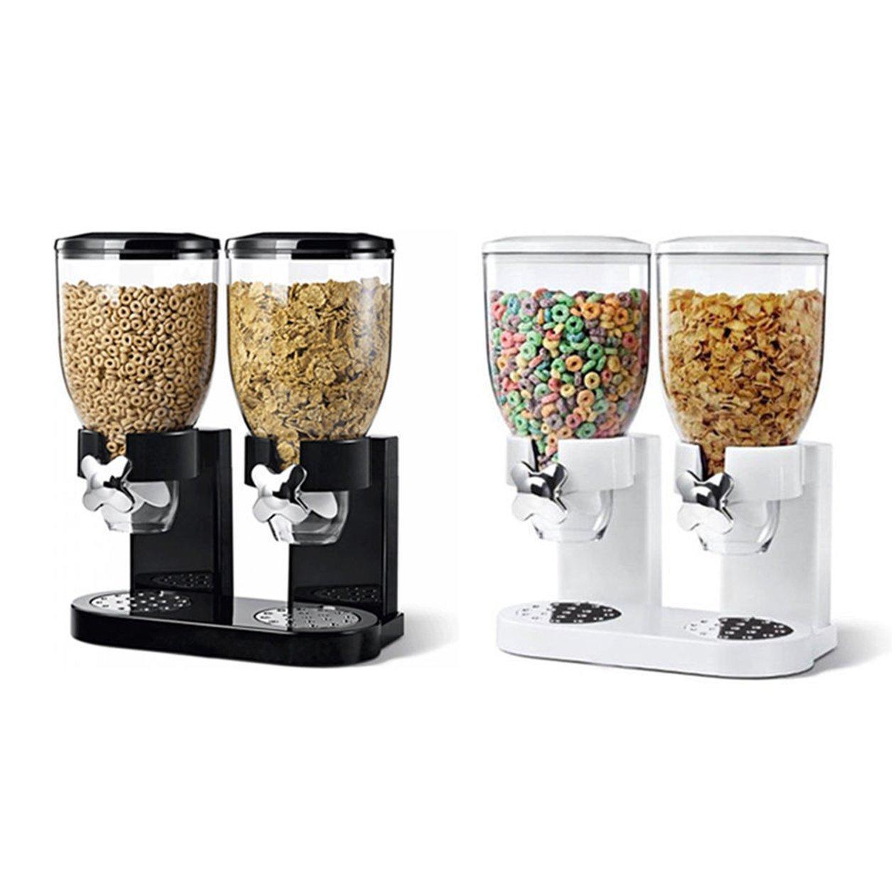 ... Doble cámaras herméticas almacenaje de la cocina, camas de doble contenedor de Control de Alimentos dispensador para cereales de granola mezcla del ...