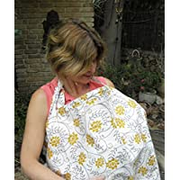 HOT DEAL!! Pack of 2 BreastFeeding Nursing Cover .100% Breathable Cotton & St...