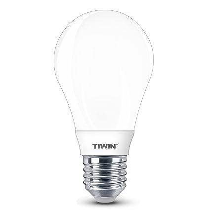 Nueva generación TIWIN® E27 Bombilla LED SMD Bulbo del globo luz blanca frío 6W /A+ /=50W /530 lm /5700K /310° /SMD 2835 Lámpara Lamp Luces: Amazon.es: ...