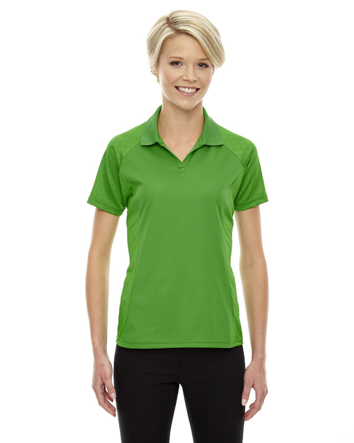 Ash City Extreme 75116 - STRIDE LADIES' JACQUARD POLOS Ash City - Extreme