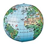 Inflatable Animal World Globe Beach Ball Review and Comparison