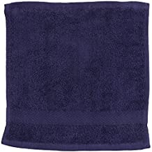 Towel City Luxury Range 550 GSM - Face Cloth / Towel (30 X 30 CM) (One Size) (Navy)