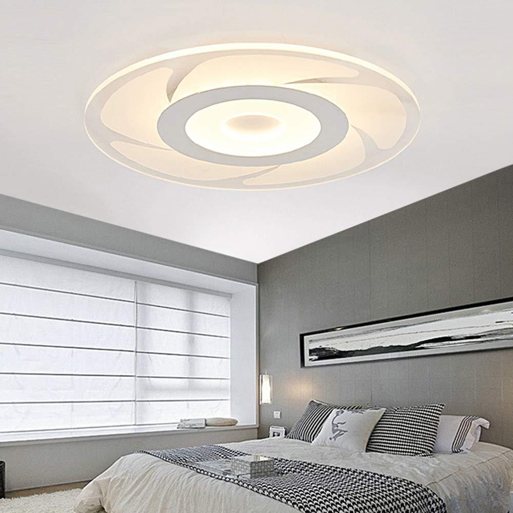 Amazon.com: Lámpara de techo de salón moderna, LED de 12 W ...