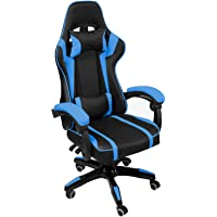 AudioTek Silla Gamer Gaming Consolas Pc Ergonomica Reclinable Colores